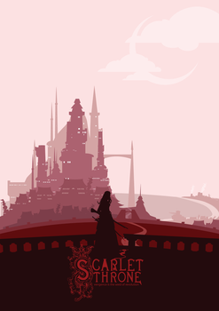 Scarlet Throne by Black-Red-Escape