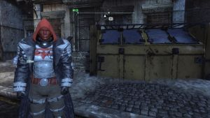 WIP BAC -  Arkham Knight Red Hood IV by DerpstonPDerp