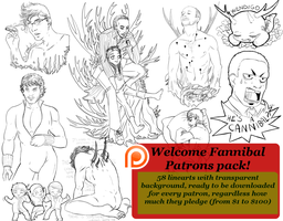 Patreon - Welcome Fannibals pack by FuriarossaAndMimma