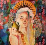 Homage to Mucha by KanchanCollage