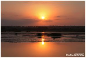 Africa 08: The Sunset by JR-Dept