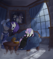 The Melancholy of Vampire Sweetie Belle by Bakuel