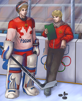 APH - Hockey Is A Serious Business In This Family by Saixmedrik