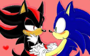 Sonic and Shadow by Kyuchuu
