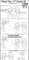 'What The' Comic 36 P:1 by TomBoy-Comics