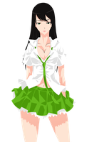 Green Skirt by ClearVector