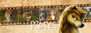 Kate | Timeline Facebook by Howie62