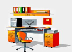 Office Space Webpage by whendt