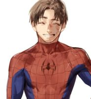 Peter Parker by Shioshiorz