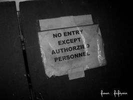 no entry by fourfiftysix