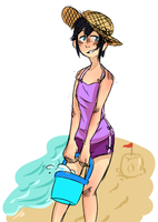 beach time by GravelPudding