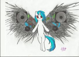 Vinyl Wings (MLP) by Fullmetalheart117