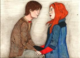 Amy Pond and 11 by Not-A-Tree-225