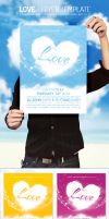 Love - Flyer Template by DOMDESIGN