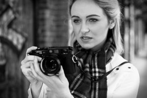 Old Fashioned Camera Girl by KellyKooper