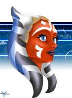 Ahsoka Tano by blue-but-beautiful