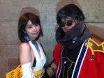 Yuna and Auron Cosplay: Anime Contents Expo 2013 by Deswin