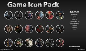 Game Icon Pack by Tjdyo