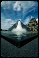 Louvre, Paris 2 by fL0urish