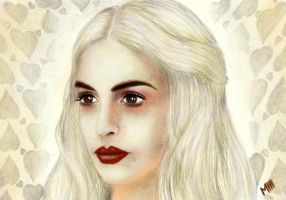 Anne Hathaway, The White Queen by die-Seee