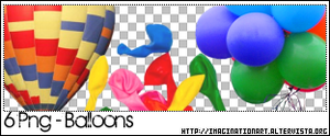 Balloons PNG - set 13 by pinkshadoww