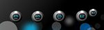 Rainmeter Blackorb V2 by chicoray