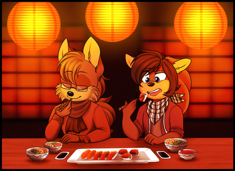 Sushi Date by boykisses