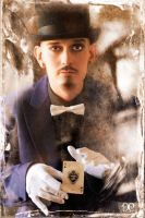 Antique Circus: Magician by NightshadeBeauty