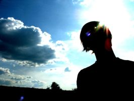 While the sun.... by SimX