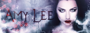 Amy Lee Cover Photo. by HeavenPhotoshop