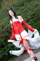 Ahri Cosplay II by Aleeusha