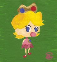 Baby Peach Practice by saaio
