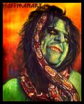 Alice Cooper Zombie by choffman36