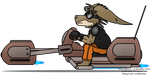 Hoverbike by LordDominic