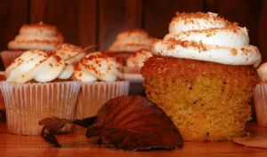 Pumpkin Cupcakes by Bimmi1111