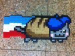 French Nyan cat by Birdseednerd