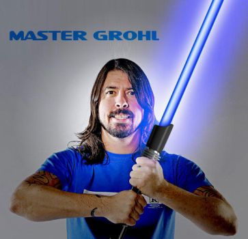Master Grohl by Hatmaskguitar