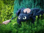 Toothless plush by Sherlockian