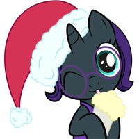 Merry Christmas From Nyx!! c: by AdamIrvine