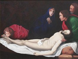 Lamentation by jfkpaint