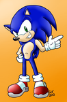 Cocky Sonic finished version by Lousin-Almasd