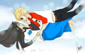 Good night strider by Chalovesapples