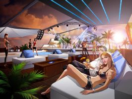 DSS Sunset DanceClub 02 by javieralcalde