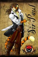Badge Steampunk Pirates by SirPaulTheIII