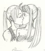 Surprise Kiss by guardian-angel15