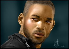 Will Smith Speedpainting pt. 2 by jackdarton