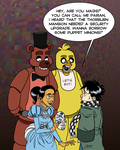 Five Nights At Parian's by mokkurkalfe