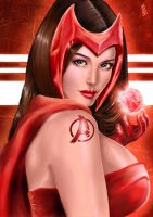 SCARLET WITCH by barfast