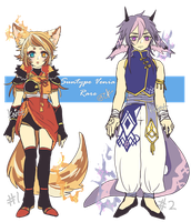 Rare Sun Type Venia adopt auction CLOSED by Kaiet