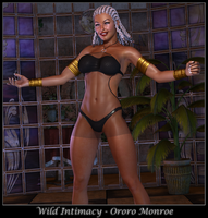 Wild Intimacy - Ororo Monroe by ExGemini